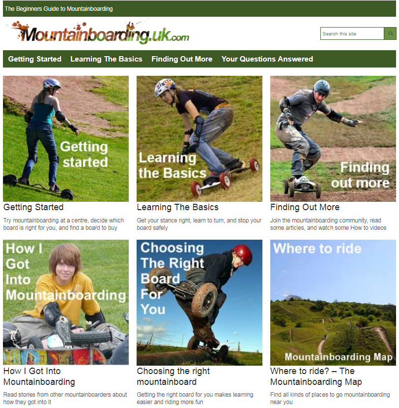 Beginners Guide to Mountainboarding