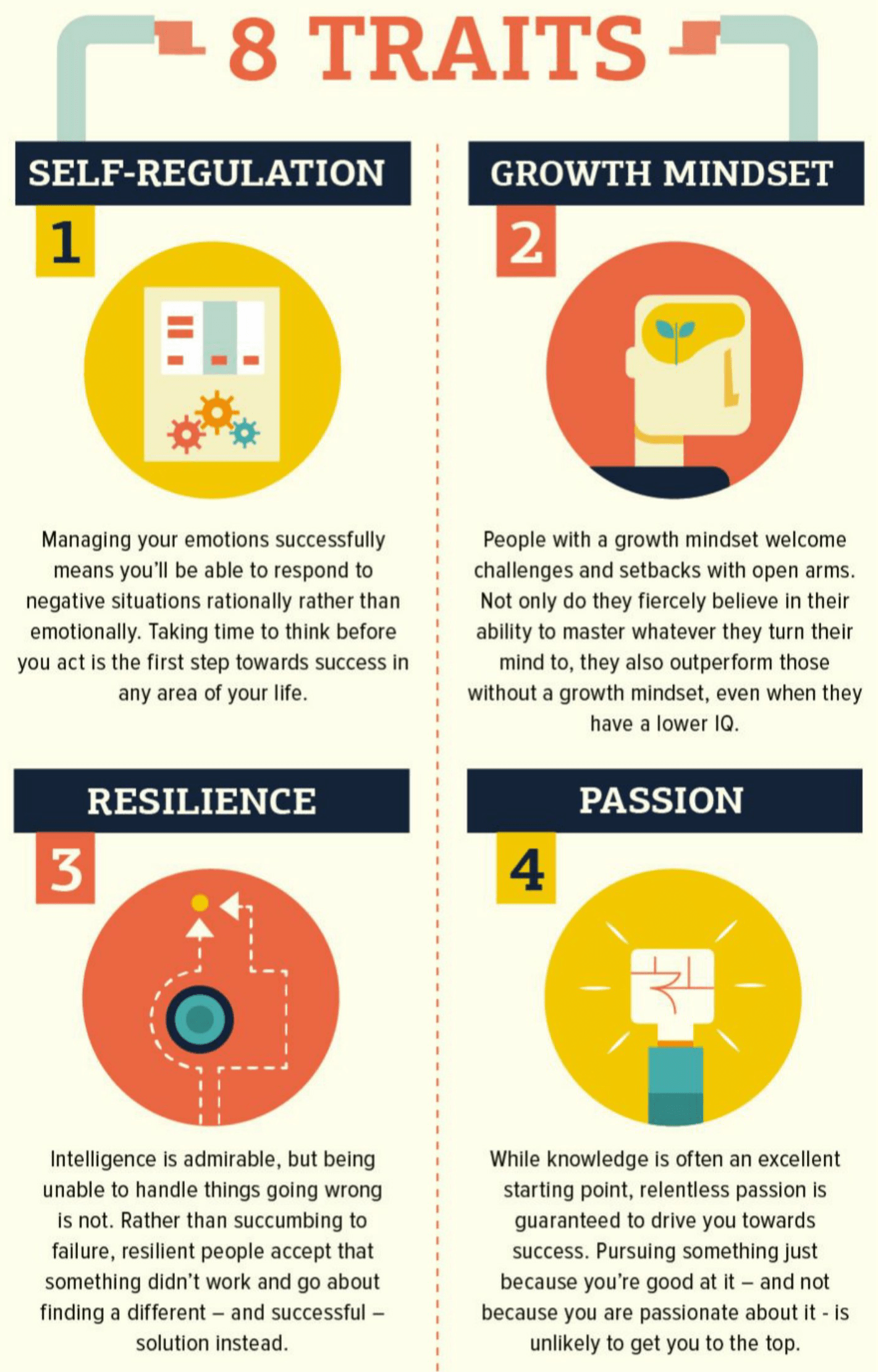 These 8 Success Factors are Most Impactful in your Life and Career