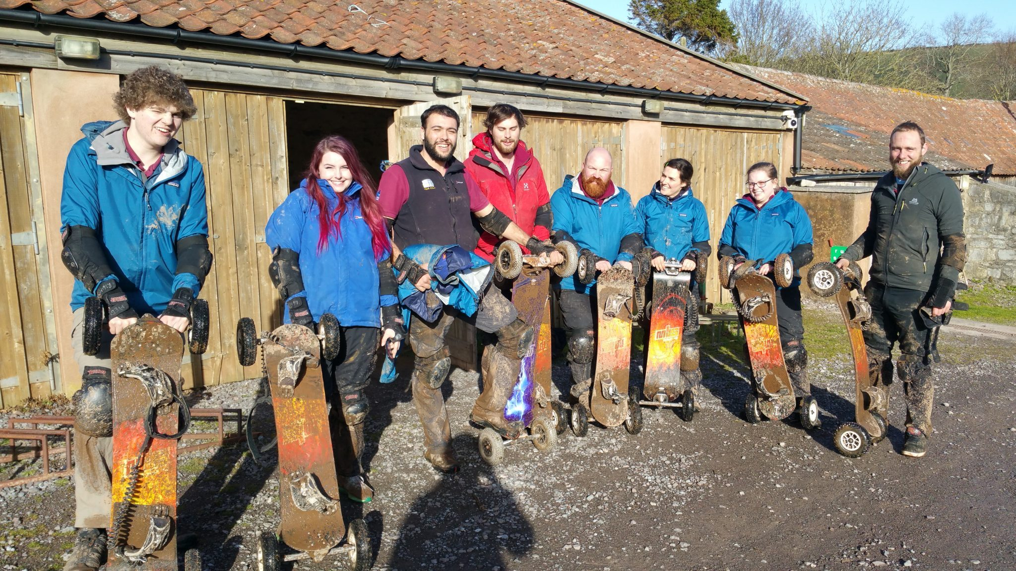 Kilve Activity Centre Mountainboarding Instructor Training
