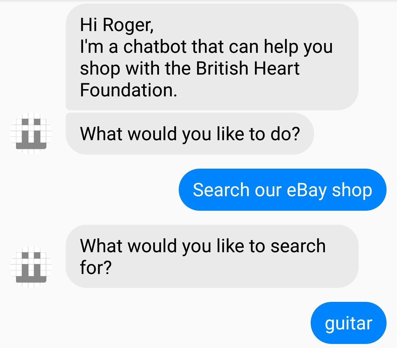 Ebaybot - Search for guitar