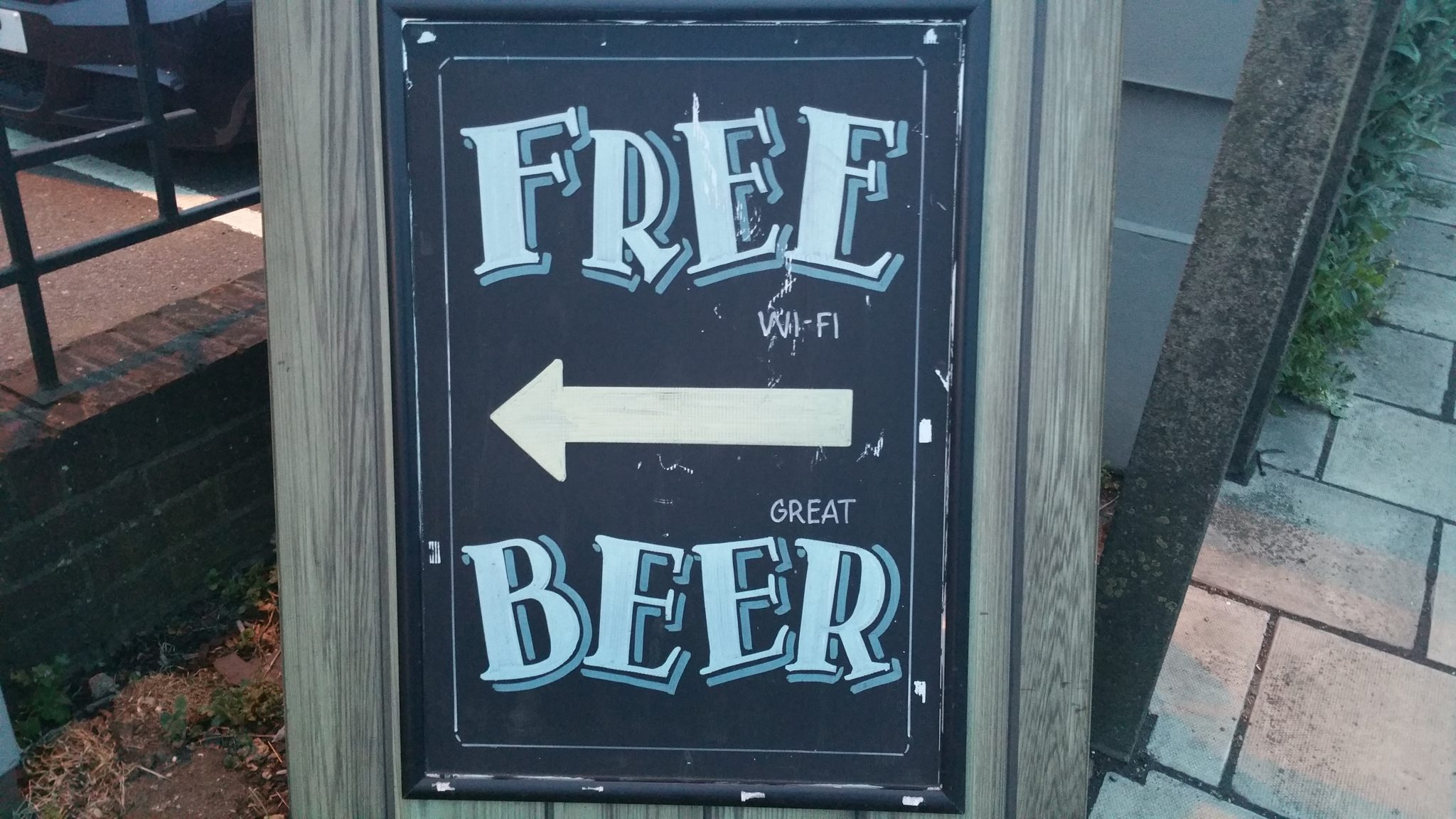 How not to market your pub