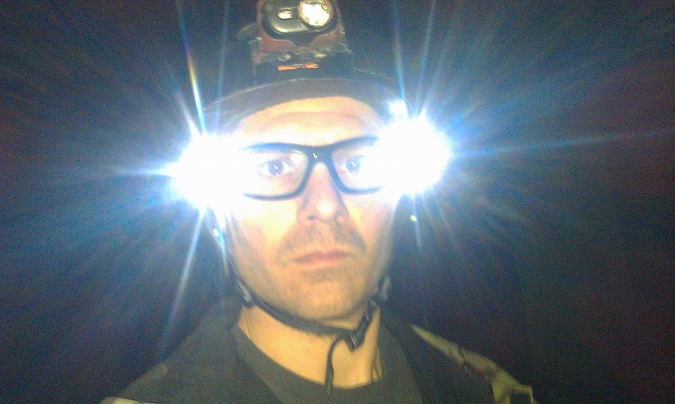 Night riding glasses