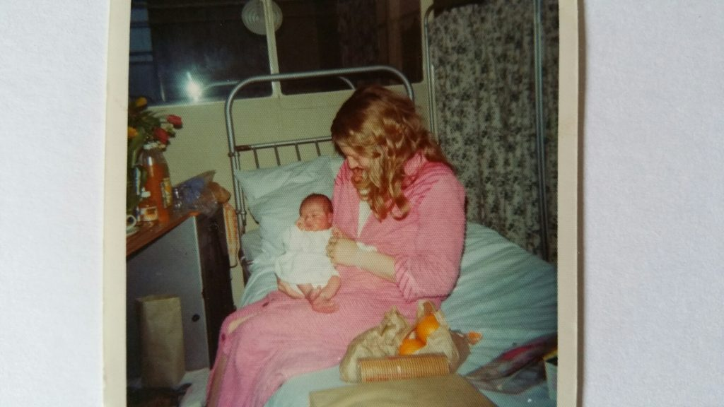 Me, 4 days old